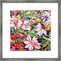The Flowers Bloom Framed Print