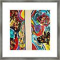 The Future Is Big And Bright Framed Print