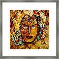 The Golden Goddess Framed Print