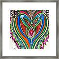 The He And She Together Framed Print