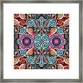 The Joy Of Design Mandala Series Puzzle 7 Arrangement 1 Framed Print