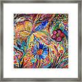 The Joyful Iris Framed Print