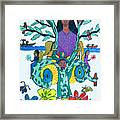 The Kakno Place Of Fantasy Framed Print