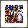 The Knife Grinder Framed Print