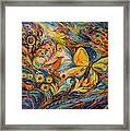 The Life Of Butterfly Framed Print