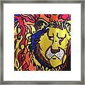 The Lions Mane. Framed Print