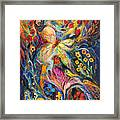 The Love Story Framed Print