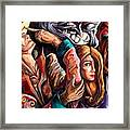 The Manipulation From The Anti-consciousness Monsters Framed Print