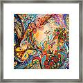 The Melancholy For Chagall Framed Print