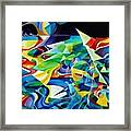 the migration of the Canadian geese Framed Print