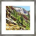 The Narrows Study 1 Framed Print