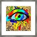 The New Eye Of Horus Framed Print