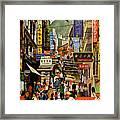 The Orient Is Hong Kong - B O A C  C. 1965 Framed Print