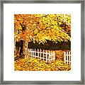 The Picket Fence Framed Print