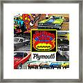 The Plymouth Rapid Transit System Collage Framed Print