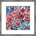 The Poppies Framed Print