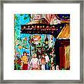 The Ritz Carlton In Spring Framed Print