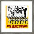 The Rocky Horror Picture Show Framed Print by Everett