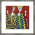 The Royal Sisters Framed Print