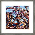 The Seduction Of The Muses Framed Print