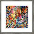 The Shining Of The Night Framed Print