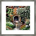The Spanish Gardens Framed Print