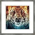 The Spirit Tiger Framed Print