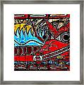 The Sun And The Serpent Framed Print by Colleen Kammerer