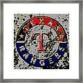 The Texas Rangers 6b Framed Print
