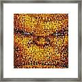 The Thing Mosaic Framed Print