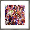The War Of Dreams Framed Print