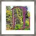 The Wooden Arch Framed Print