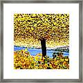 The Yellow Ceiling Framed Print