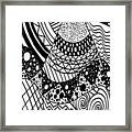 The Zendoodle Desert Framed Print