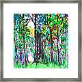 Thicket Framed Print