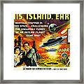 This Island Earth, Faith Domergue, Rex Framed Print