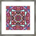 Thoughts Of Pink Framed Print