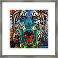 Tiger Blood Framed Print