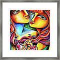 Together In Love Framed Print