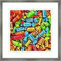 Tootsie Fruit Chews Framed Print