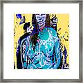 Torquoise Framed Print