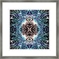Totems Of The Vision Quests #1526 Framed Print