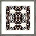 Totheme Black And Brown Framed Print