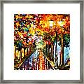 Transformation Of The Night Framed Print