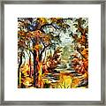 Tree Impression Framed Print