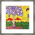 Tree Of Freedom And Glory Framed Print