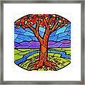 Tree Of Grace - Autumn Framed Print