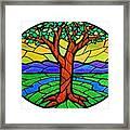 Tree Of Grace - Summer Framed Print