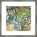 Tree-roots Framed Print