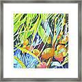Tropical Design 1 Framed Print